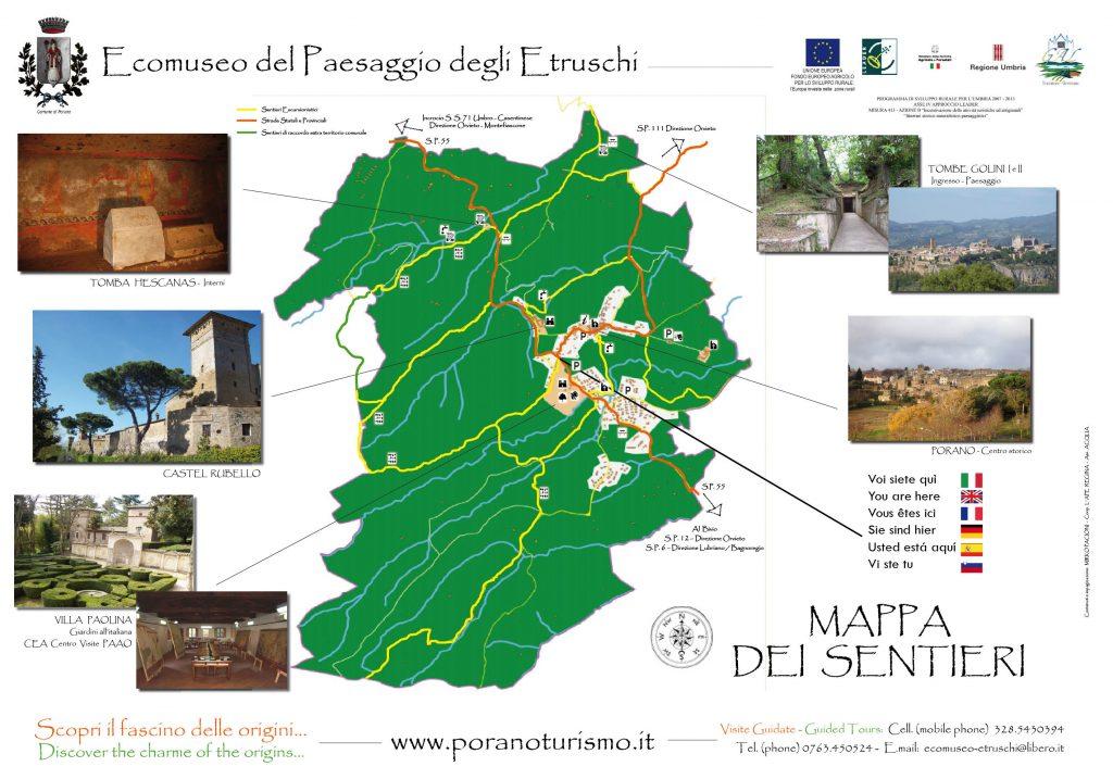 mappa sentieri eco